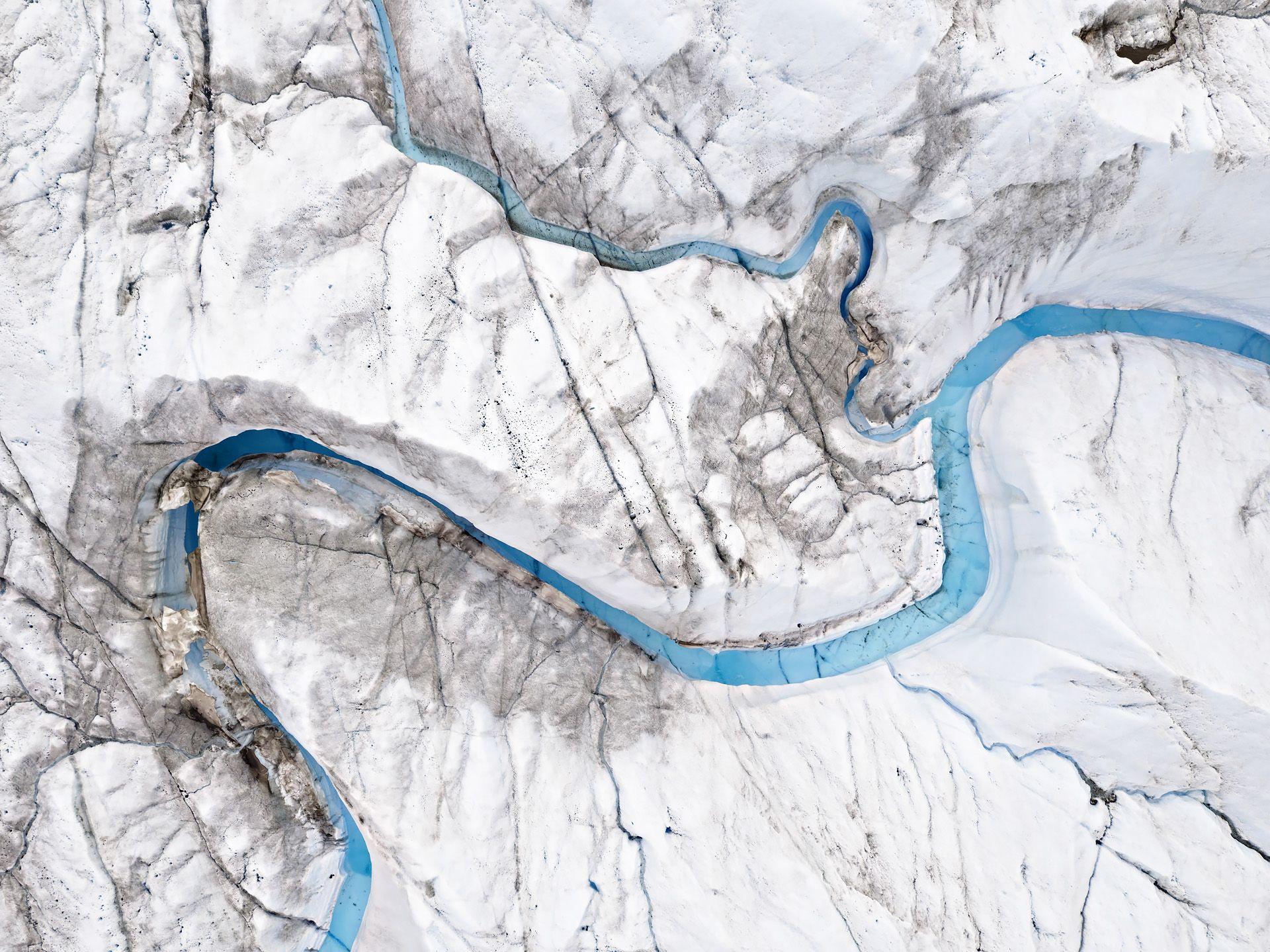 Turquoise River Landscape