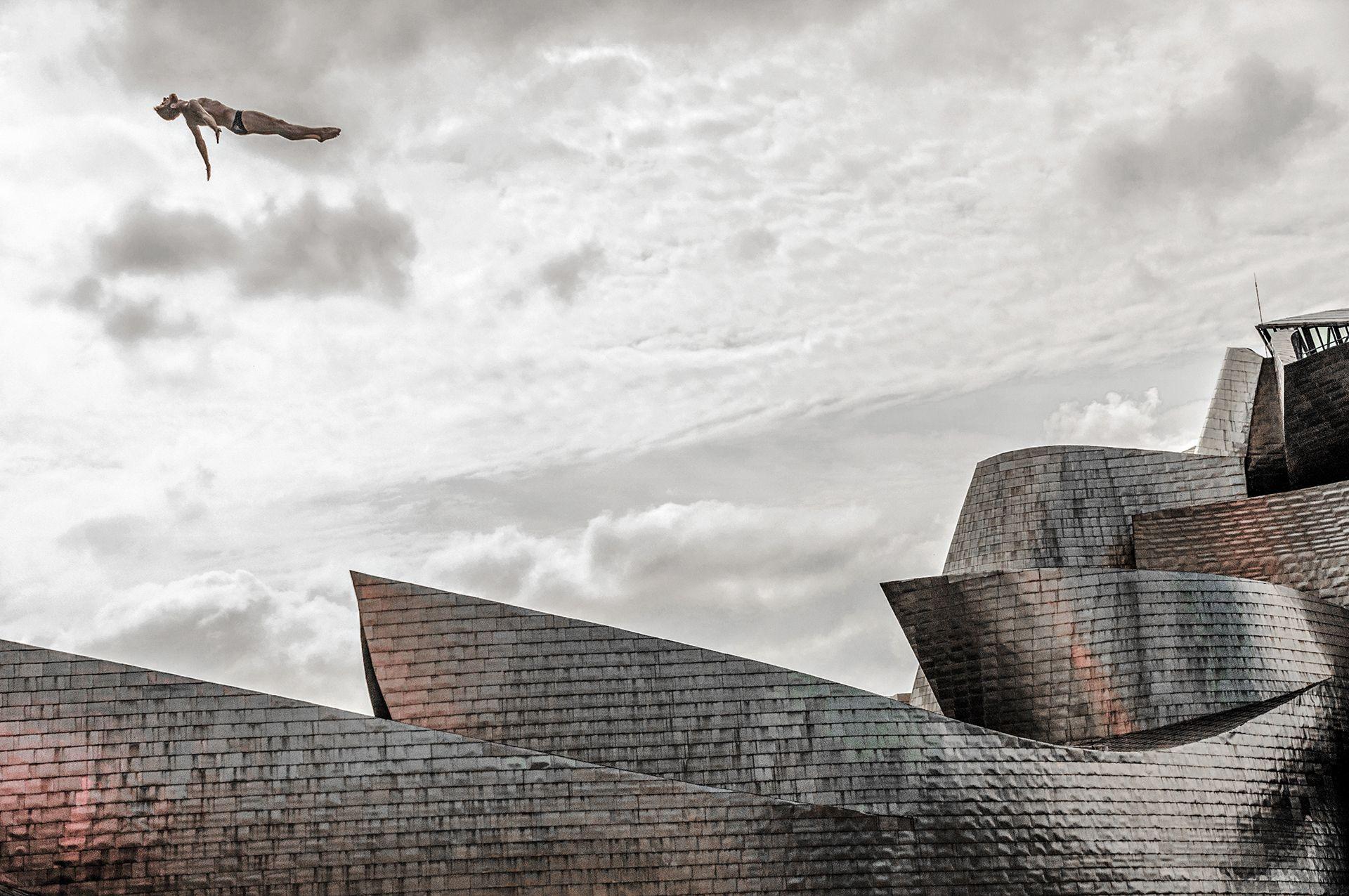 Levitating at the Guggenheim
