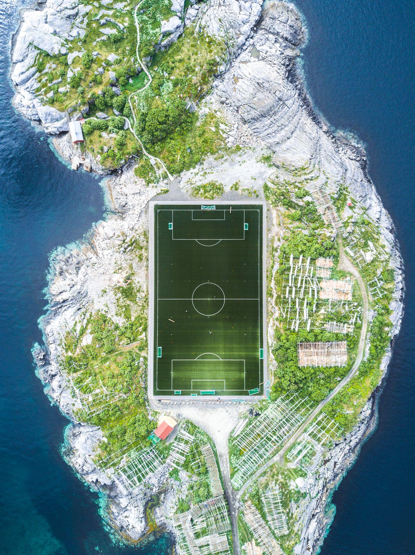 Henningsvær Football Field