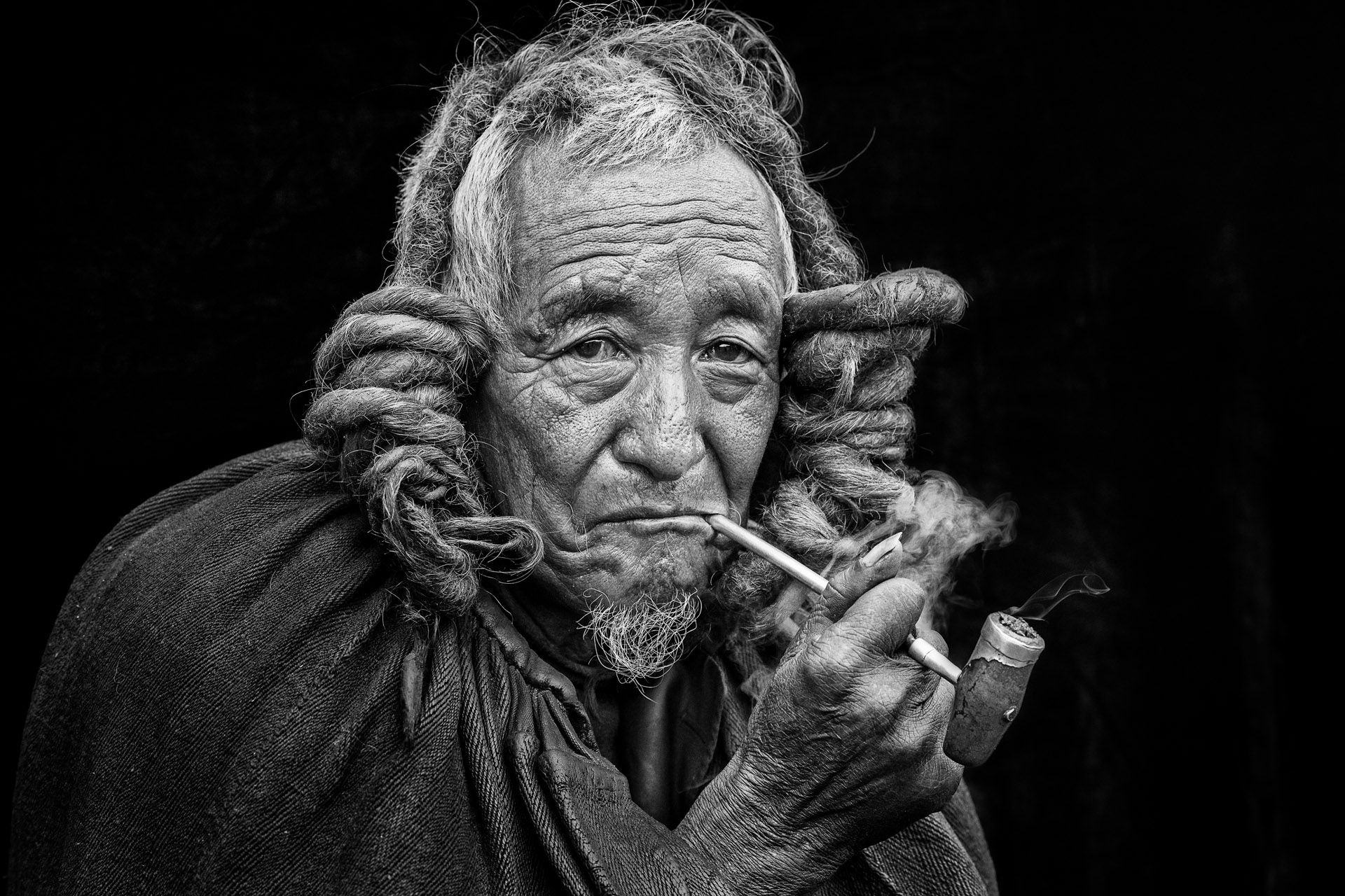 Yi Ethnic Elder