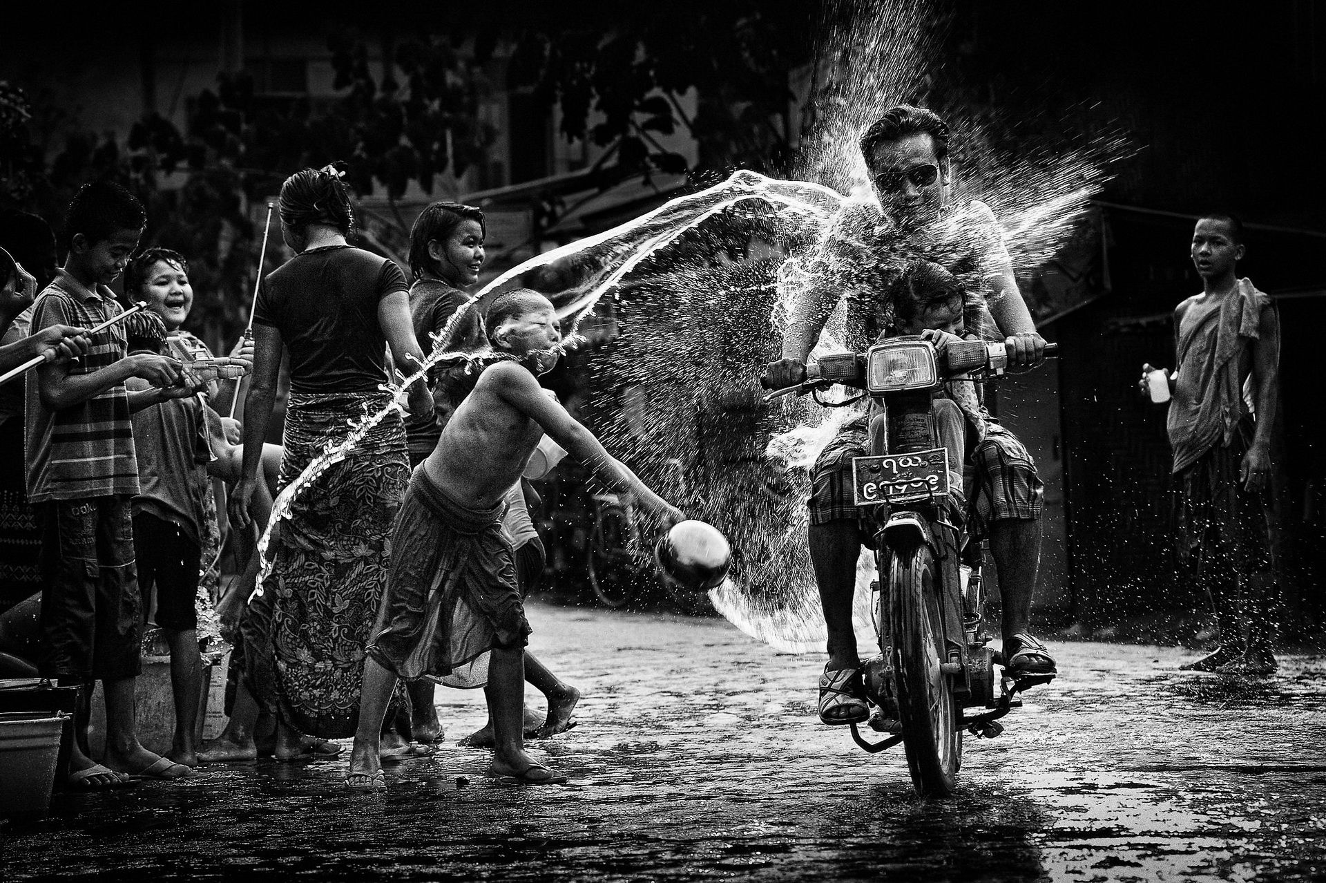 Thingyan water festival