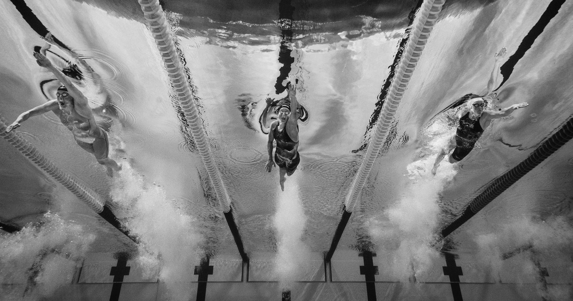 Sprint through water