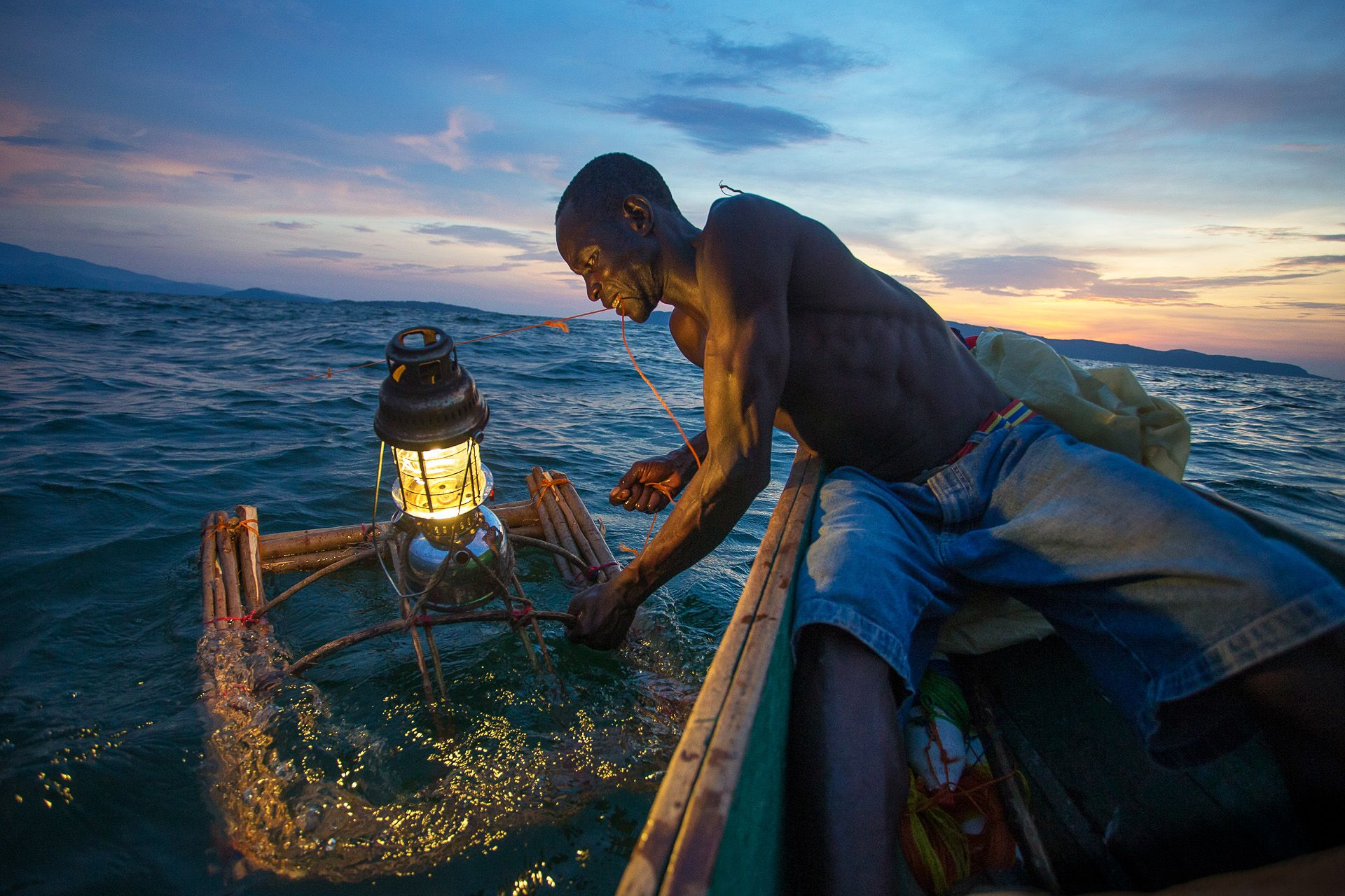 Fishing with lights