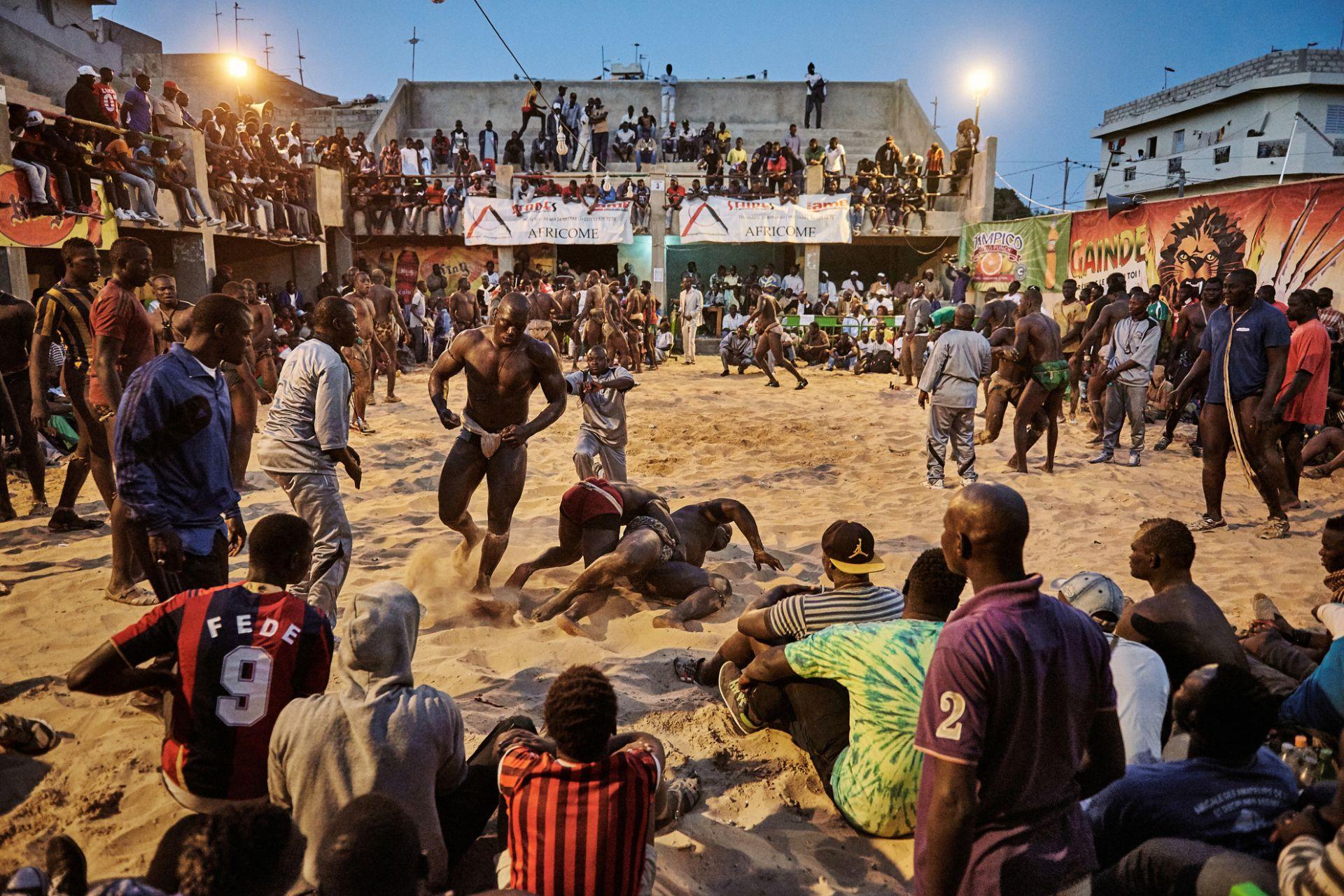 Wrestling Arena in Dakar, Senegal