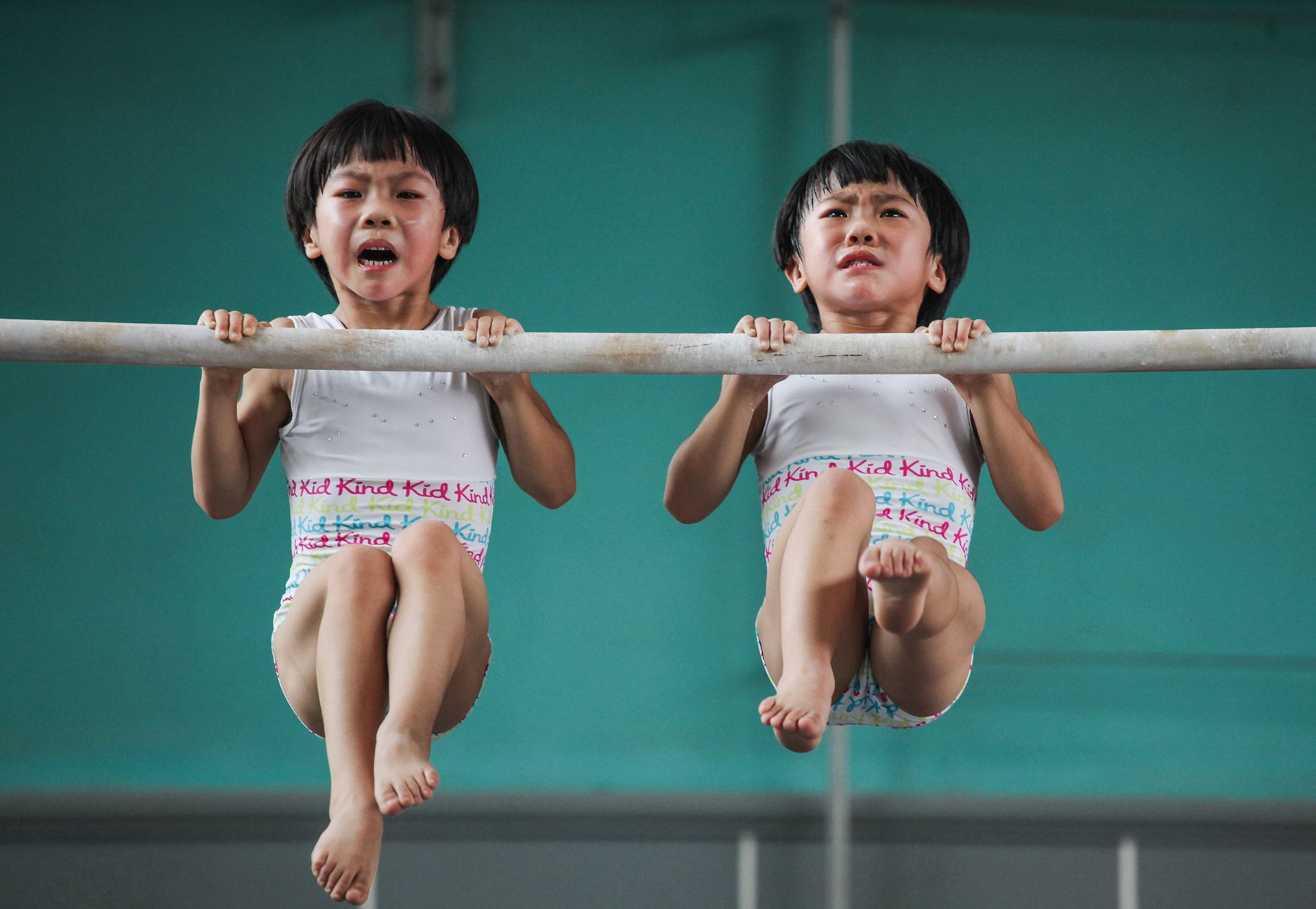 The twins' gymnastics dream - 2