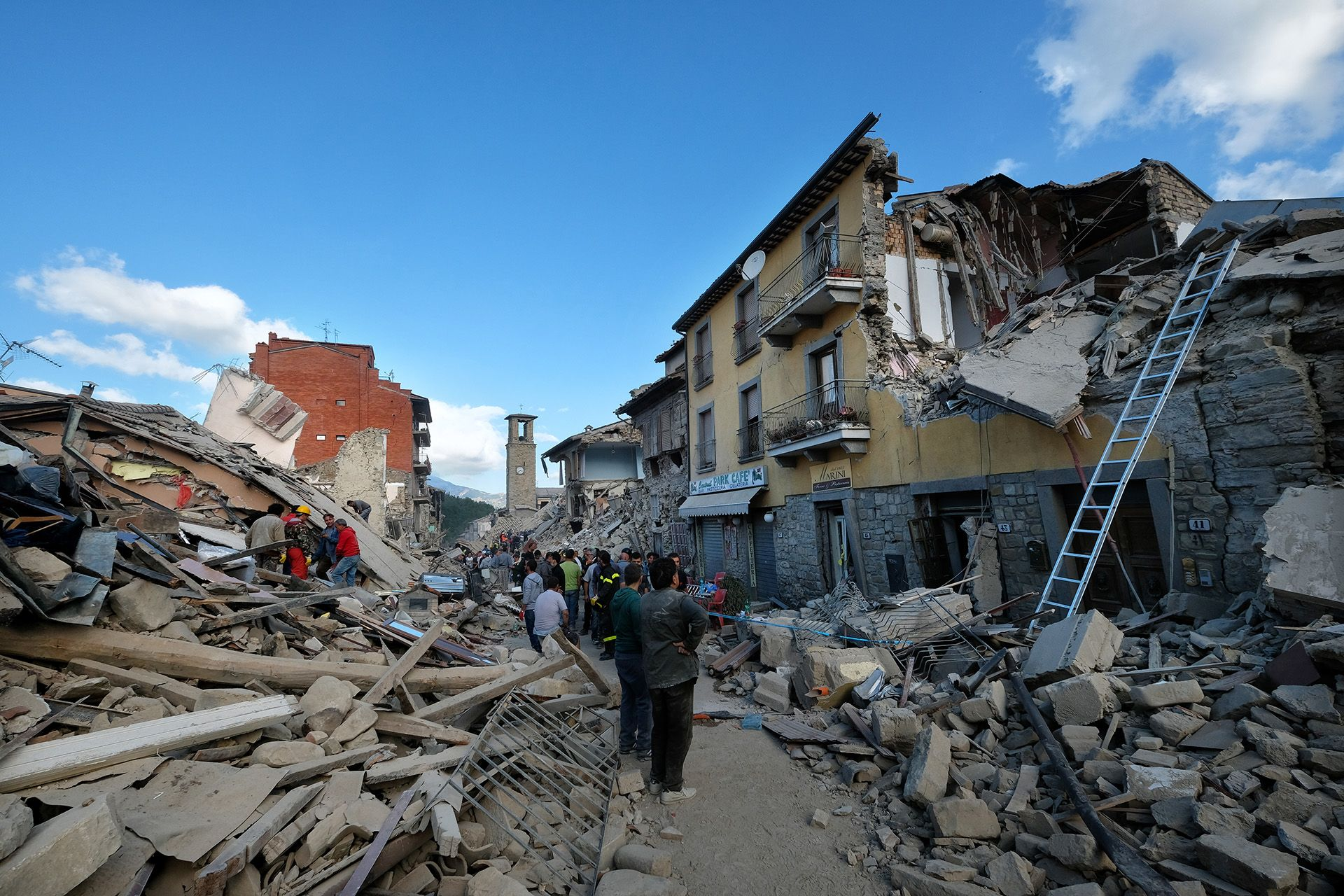 Earthquake Center Italy - 5