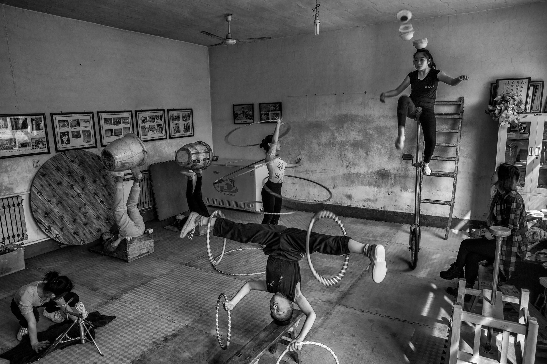 Rural  acrobat school - 2