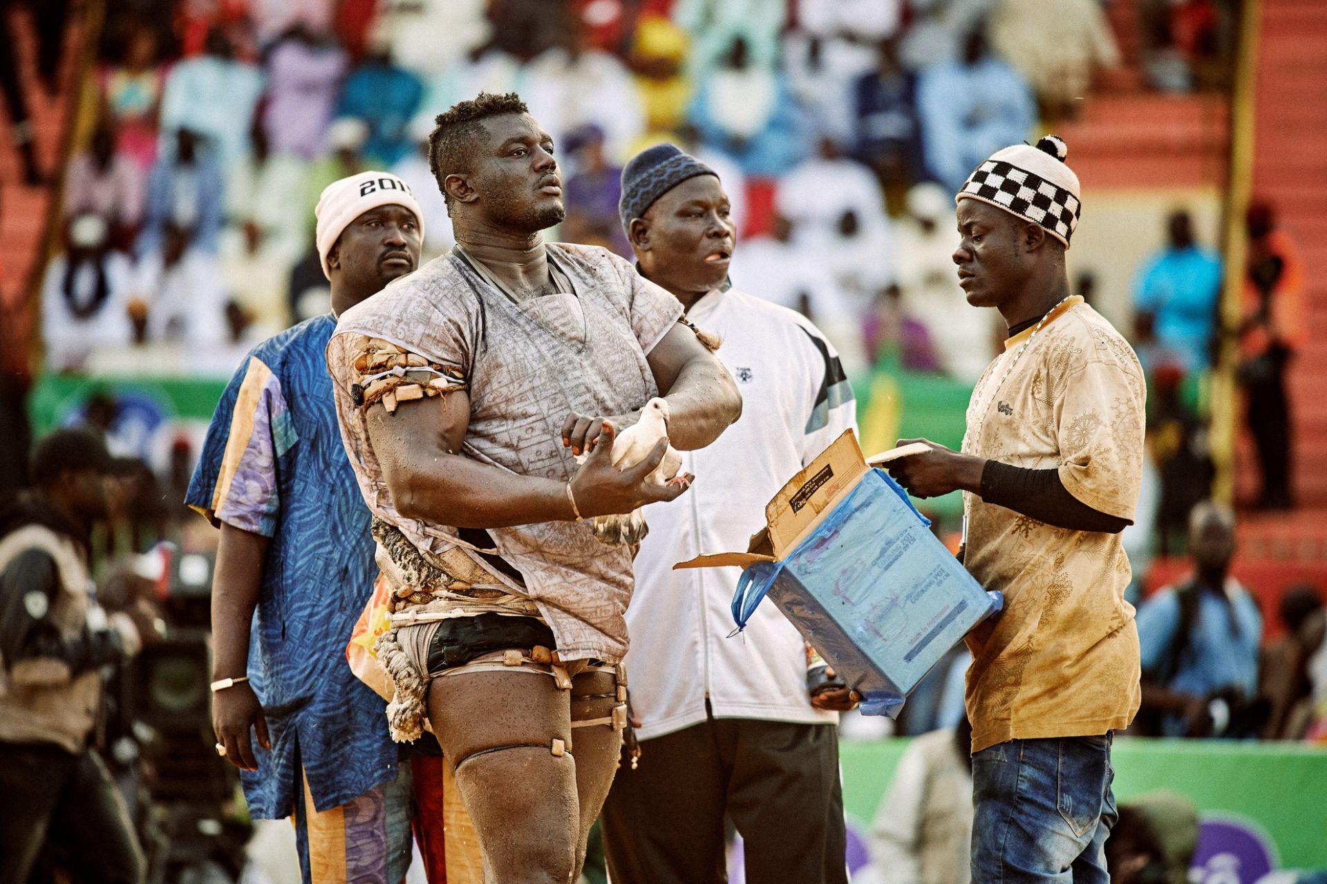 The Gris Gris Wrestlers of Senegal - 6