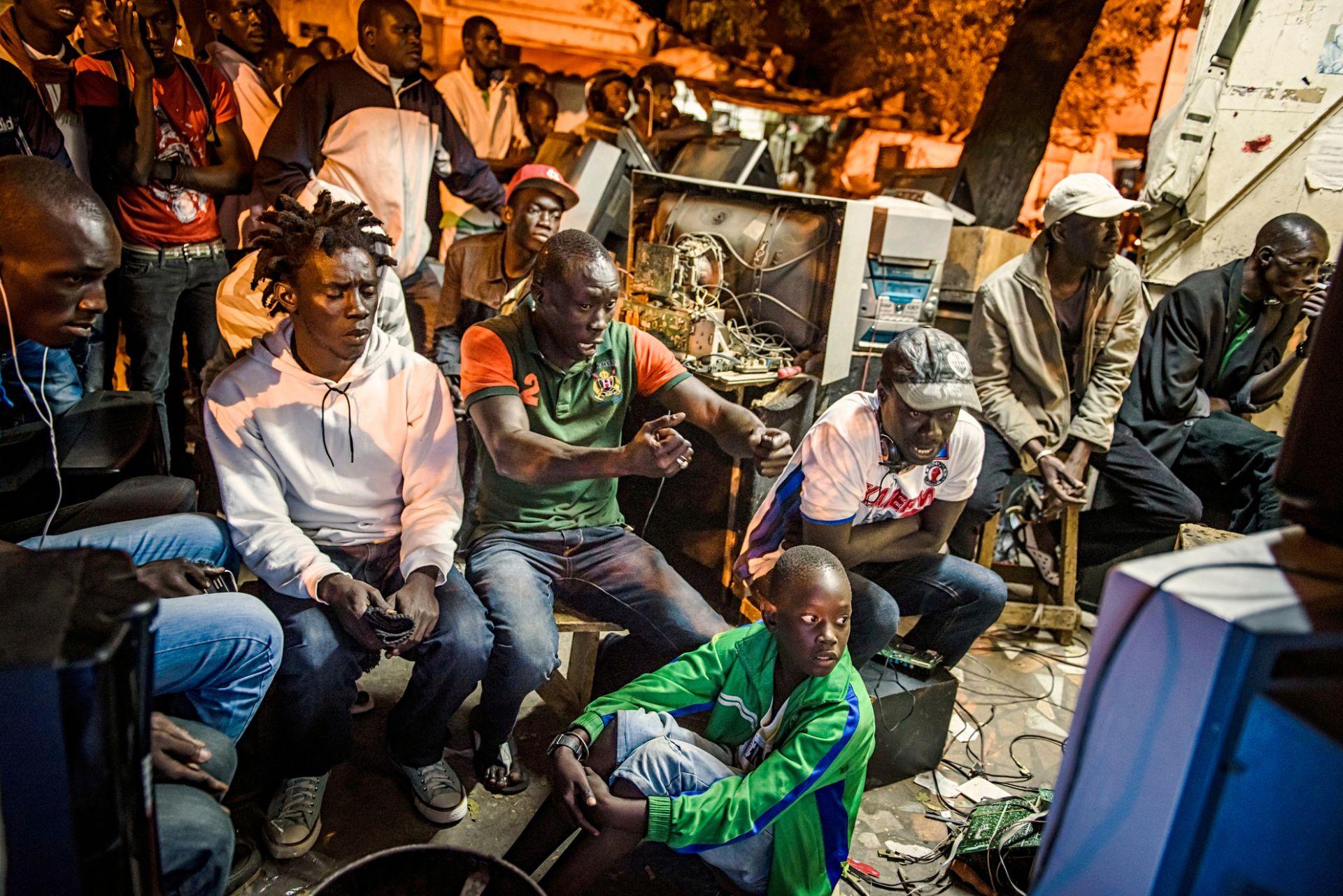 The Gris Gris Wrestlers of Senegal - 8