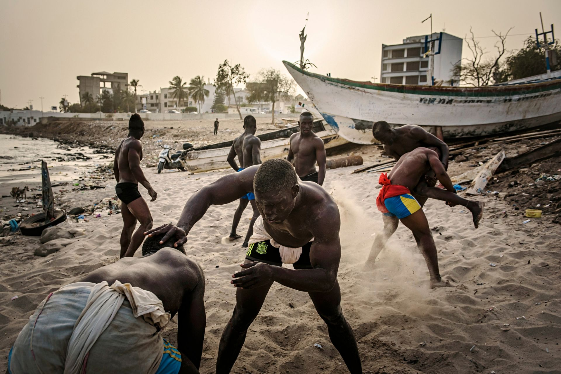 The Gris Gris Wrestlers of Senegal - 4